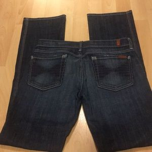 7 For All Mankind Colette jeans size 28